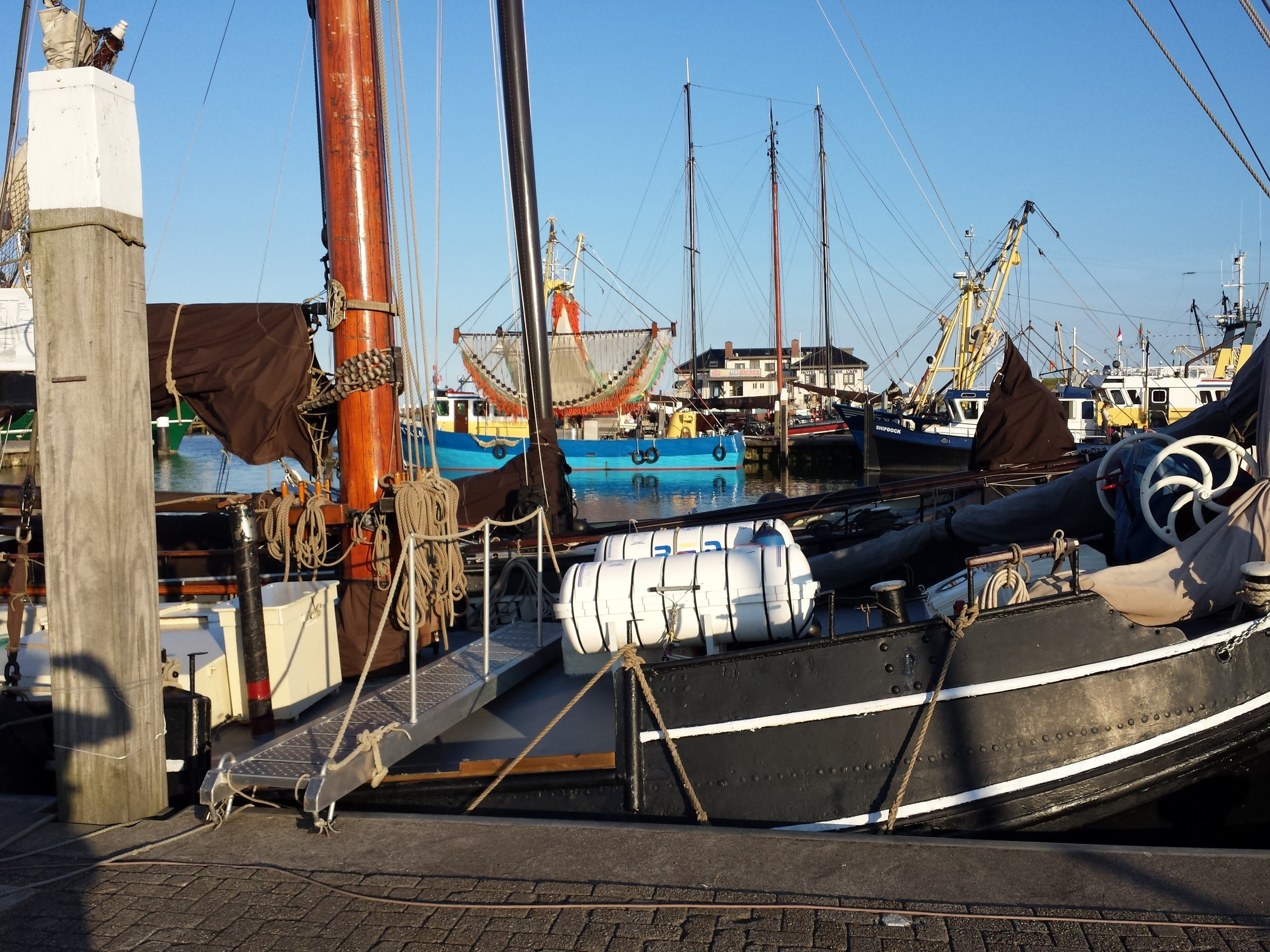 De haven van Oudeschild